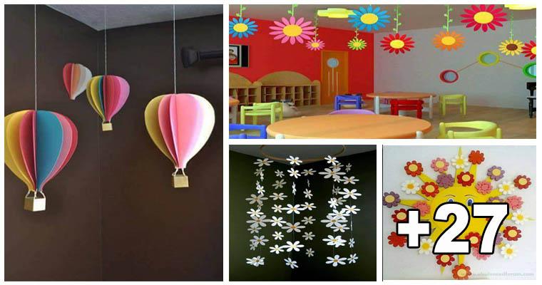 30 decoraci n de salones de preescolar biblioteca del for Decoracion para puertas de preescolar